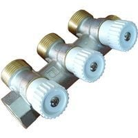 "Durable high quality brass 3 sections 3/4"" water manifold distributor luxor"