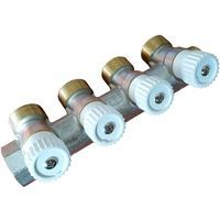 "Durable high quality brass 4 sections 3/4"" water manifold distributor luxor"