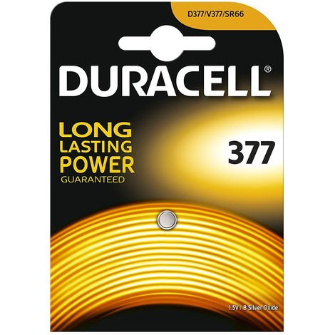 Duracell 377 1.5v Silver Oxide Watch Battery Batteries SR626SW AG4 626 D377 V377