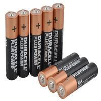 Duracell AAA Batteries - Multi -Pack of (5+3)