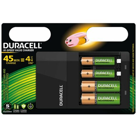Duracell Battery Charger Hi-Speed 45 min CEF14