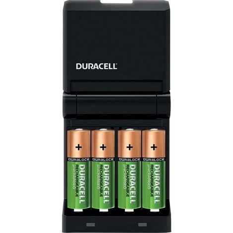 "main image of ""Duracell CEF14 Caricabatterie universale Incl. Batterie ricaricabili NiMH Ministilo (AAA), Stilo (AA)"""