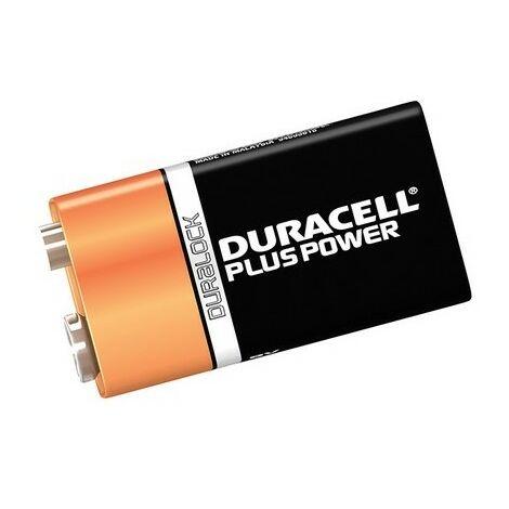 Duracell DUR9VK1P 9v Cell Plus Power Battery Pack of 1 MN1604/6LR6