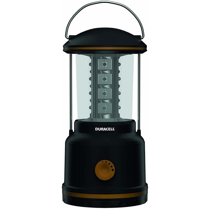 Image of Duracell Flashlight, Explorer LANTERN Series Lantern Torch, 95 Lumen LED Light, Black Plastic Finish (Pack of 1) (LNT-100)