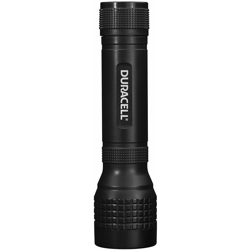 Image of Duracell Flashlight, Voyager EASY Series Torch, 60 Lumen LED Light, Black Plastic Finish, Duracell Batteries Included (Pack of 1) (EASY-5)