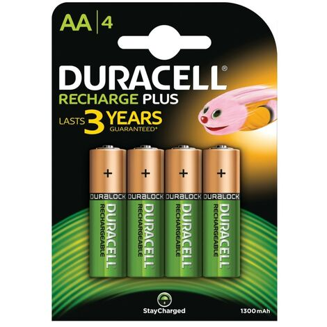 """main image of """"Duracell MN1500 (Aa) Rechargeable Batteries NiMH (Pack-4)"""""""
