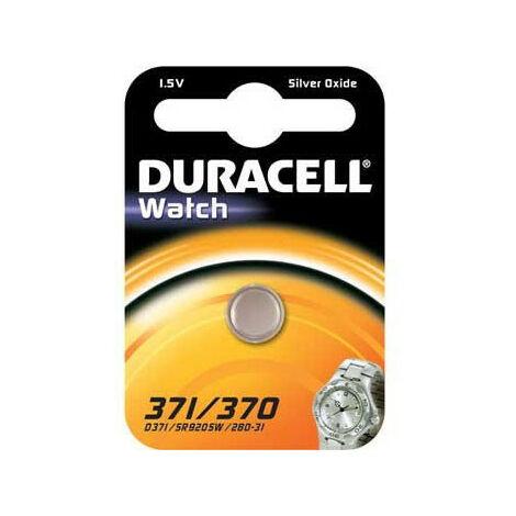 Duracell Pile 371/370 SR920,1 pièce en petit blister (936847)