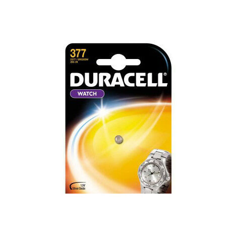 """main image of """"Duracell Pile 377 small blister 1 pièce (936830)"""""""