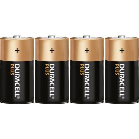 Duracell Plus LR14 Baby (C)-Batterie Alkali-Mangan 1.5V 4St. Y00201