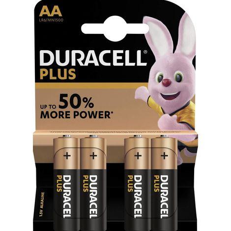 Duracell Plus Power LR06 Mignon (AA)-Batterie Alkali-Mangan 1.5V 4St. X37250