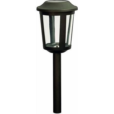 Duracell Solar, Garden Pathway LED Lights, 5 Lumen, Charcoal Brown Finish (Pack of 1)