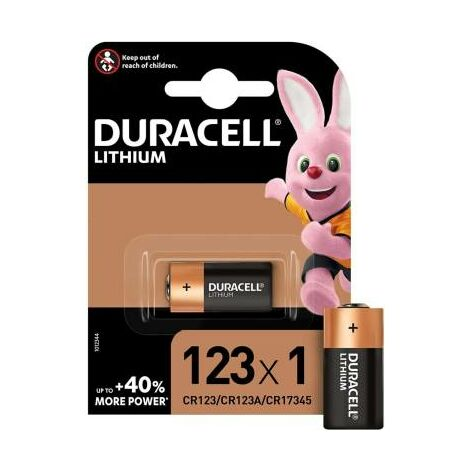 """main image of """"Duracell Specialistiche Batteria DL123 CR123/CR123A/CR17345 1pz"""""""