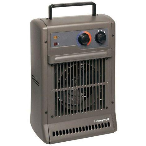 Duracraft CZ 2104 E - Calefactor turbo potente, potencia 2500W. Color gris antracita