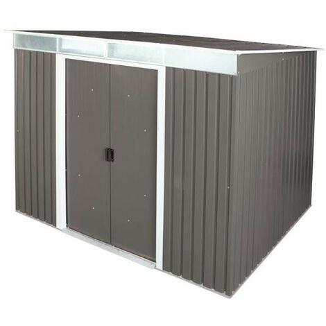 Duramax - Abri de jardin anthracite en métal Skylight 8x6 4,33 m2 - DUSK86PR