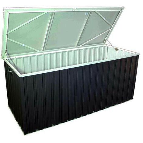 Plus adapté Duramax - Coffre de rangement anthracite métal 170 1,27 m2 - DUPB17PR VZ-96