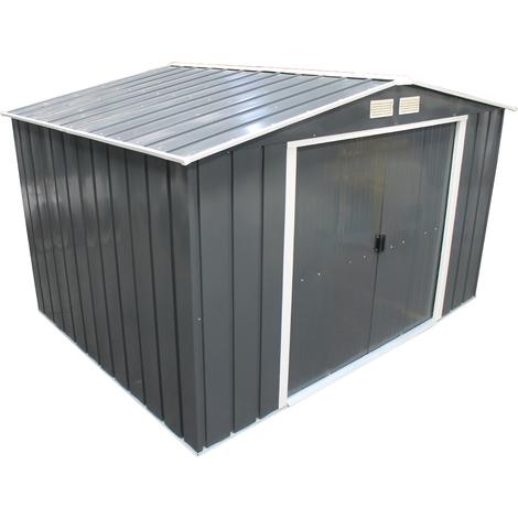 Duramax Eco8x8 caseta metalica jardin 5,8m2