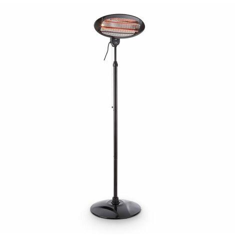 DURAMAXX Shiny Hot Roddy Calefactor radiante Infrarrojo Lámpara Cuarzo 1300 W