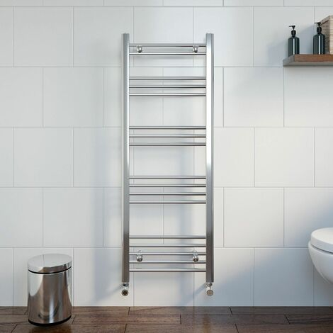 Duratherm Heated Towel Rail 1200 x 450mm Flat