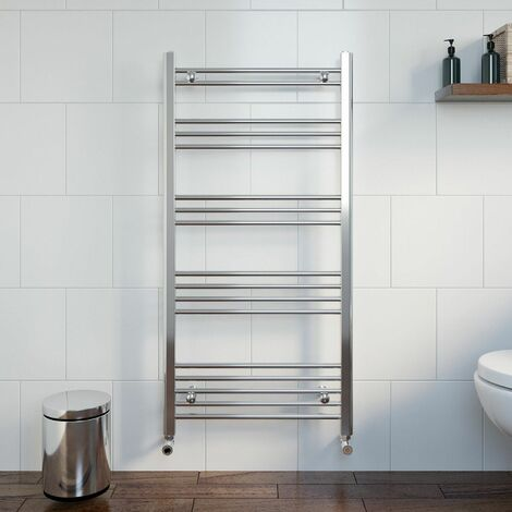 Duratherm Heated Towel Rail 1200 x 600mm Flat