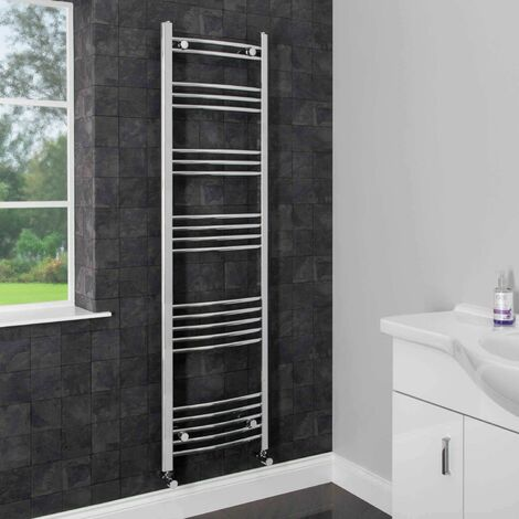 Duratherm Heated Towel Rail 1600 x 450mm Curved