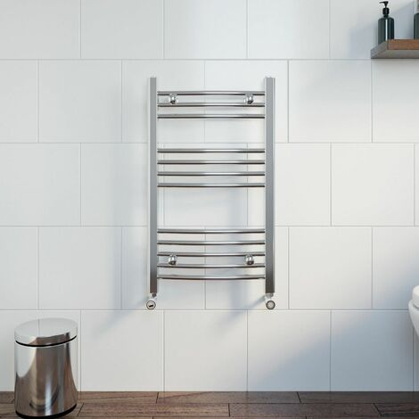 Duratherm Heated Towel Rail 750 x 450mm Curved
