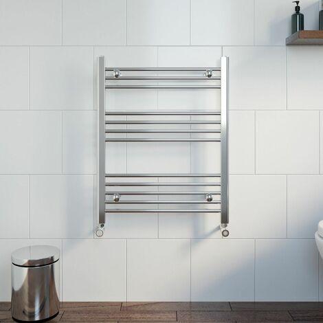 Duratherm Heated Towel Rail 750 x 600mm Flat