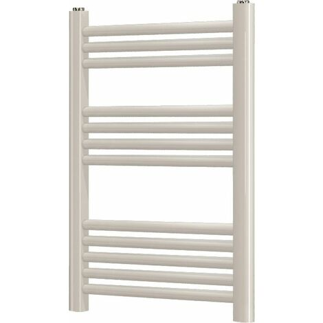 Duratherm Heated Towel Rail White 750 x 450mm Flat