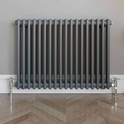 DuraTherm Traditional Colosseum Bar Radiator 600x828mm Anthracite