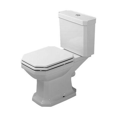 Duravit 1930 Stand WC Kombination, Abgang waagerecht, weiss, Farbe: Weiß - 0227090000