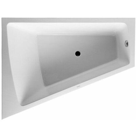 Duravit Baignoire Paiova 170x130cm coin gauche, 700266, avec Acylverkleidung moulé et cadre, blanc - 700266000000000