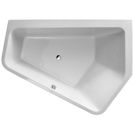 Duravit bathtub Paiova 5 corner right, 190x140cm, 700397, with seamless acrylic cover and frame, white - 700397000000000