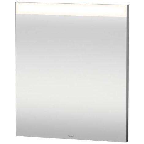 Duravit Best mirror with illumination, with sensor circuit, mirror heating, LED edge light field above