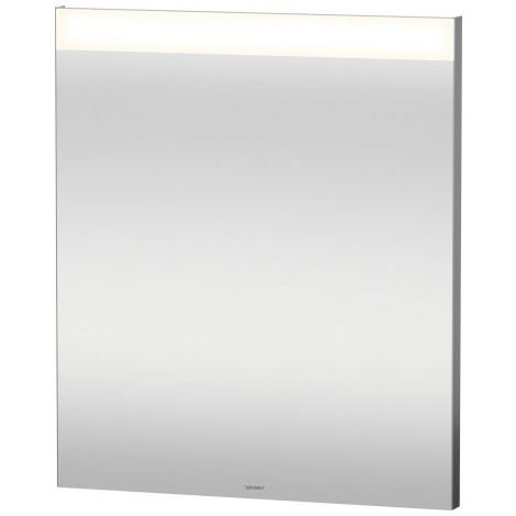 Duravit Best mirror with illumination, with sensor circuit, mirror heating, LED edge light field above
