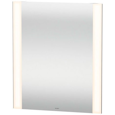 Duravit Better mirror with illumination, with sensor circuit, LED edge light fields on the side