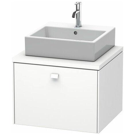 Duravit Brioso meuble-lavabo pour console 62,0 x 55,0 cm, 1 tiroir, Couleur (avant/corps): Taupe Matt Décor, Poignée Taupe Matt - BR511009191