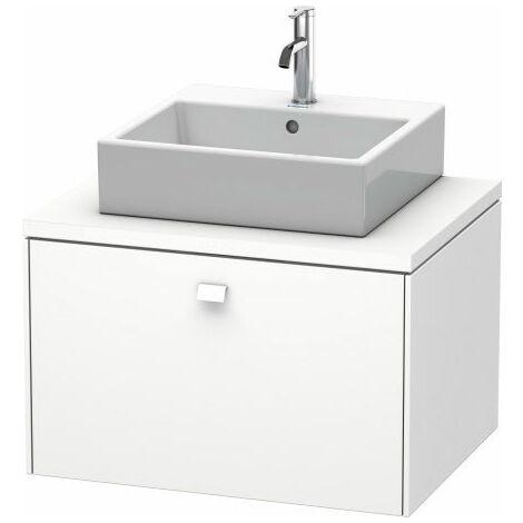 Duravit Brioso meuble-lavabo pour console 72,0 x 55,0 cm, 1 tiroir, Couleur (avant/corps): Décor blanc brillant, manche blanc brillant - BR511102222