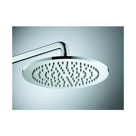 Duravit C.1 Système de douche, avec thermostat de douche, douchette à main/douchette à tête incl., chromé, saillie 350mm - C14280008010