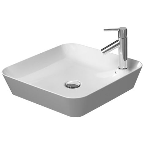 Duravit Cape Cod Countertop sink, 460 x 460 mm, with tap island, without overflow