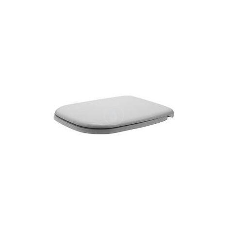 Duravit D-CODE Abattant WC avec fermeture amortie (0067390000)