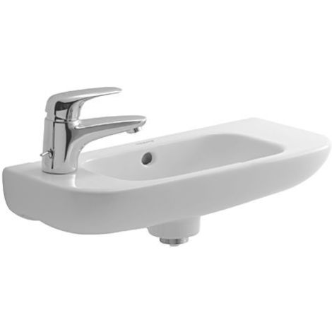 Duravit D-Code Handrinse basin 500 mm