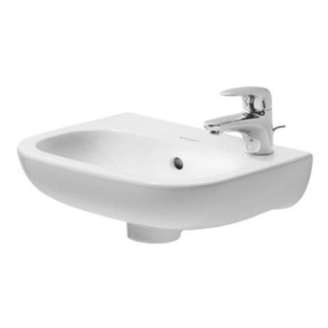 Duravit D Code Lave mains 36x27cm sans trou pour robinetterie Blanc ...