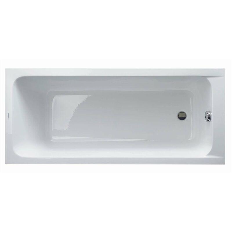 Duravit D-Code - Vasca da bagno 1600x700 mm, bianco alpino ...