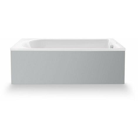 Duravit D-Neo baignoire à encastrer, rectangulaire, acrylique sanitaire, 1600 x 700 mm, 7004720000000 - 700472000000000