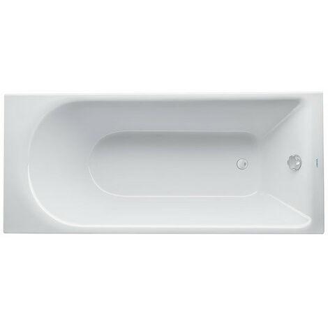 Duravit D-Neo baignoire à encastrer, rectangulaire, acrylique sanitaire, 1700 x 750 mm, 7004790000000 - 700479000000000
