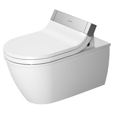 Duravit Darling New Wand WC 254409, lavable, para SensoWash, 620mm, color: Blanco con Wondergliss - 25440900001