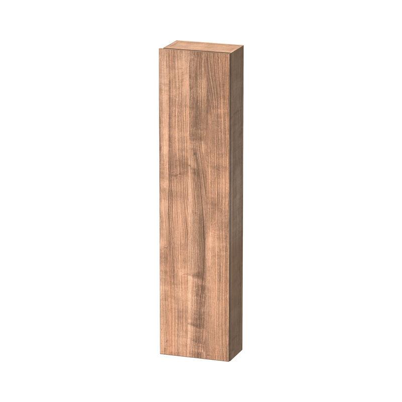 DuraStyle armario alto 1228, 1 puerta, tope derecho, altura: 1800mm, profundidad: 240mm, Color frente/cuerpo: Cerezo del Tesino - DS1228R7373