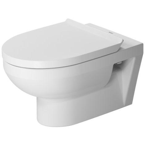 Duravit Durastyle Basic WC de pared 36,5 cm, lavavajillas, sin borde, 4,5 L, color: Blanco con Wondergliss - 25620900001