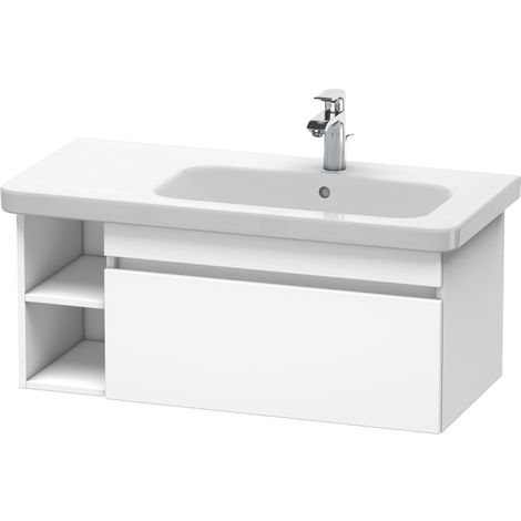 Duravit DuraStyle vanity unit wall-mounted 6396, 1 pull-out, 930mm, for DuraStyle basin right