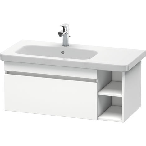 Duravit DuraStyle vanity unit wall-mounted 6397, 1 pull-out, 930mm, for DuraStyle basin left