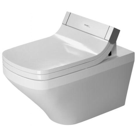 Duravit DuraStyle Wand-WC Duravit Rimless für SensoWash® , 254259, color: Blanco con HygieneGlaze - 2542592000